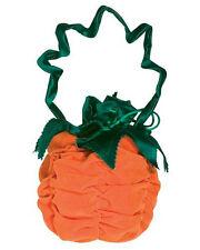 Deluxe Pumpkin Witch Handbag Pouch Purse Costume Accessory