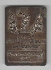 Orig.Teilnehmermedaille   LÄNDERKAMPF 1955  DÄNEMARK - DEUTSCHLAND  !!  RARITÄT