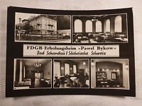 AK alte Ansichtskarte Bad Schandau FDGB Erholungsheim Pawel Bykow Einrichtung