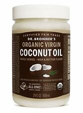 Fresh-Pressed Virgin Coconut Oil  Unrefined - 29 oz. Tub by Dr. Bronner's