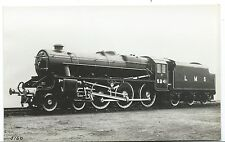 LONDON, MIDLAND & SCOTTISH RAILWAY - LMS LOCO no. 5241 Moore Real Photo Postcard