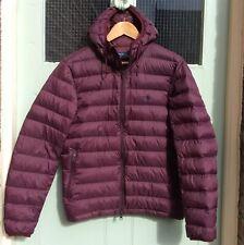 Polo Ralph Lauren Lightweight Feather Down Jacket - Small.Purple/Navy.  Packable