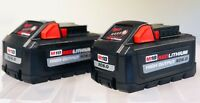 (2-PACK) Milwaukee 48-11-1865 M18 REDLITHIUM HIGH OUTPUT XC6.0 Battery Pack New