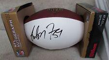 NFL Washington Redskins London Fletcher #59 Signed Authentic Duke Football New