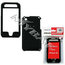 Glossy Black Hard Case Cover for Apple iPhone 3G 3GS