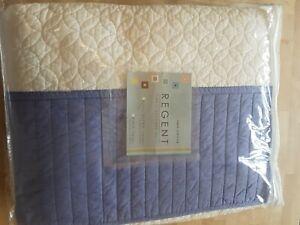 Quilted Cotton Bedspread Kingsize NWOT