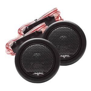 NEW SKAR AUDIO TWS-01 1-INCH 240W MAX POWER SILK DOME NEODYMIUM TWEETERS - PAIR