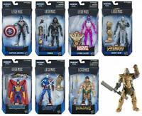 Avengers Marvel Legends Wave 1 Set of 7 Figures 1 of Each Thanos BAF End Game