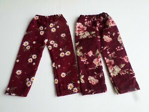 2 Pairs of Corduroy Trousers  for 45 cm Zwergnase Junior Dolls (2)