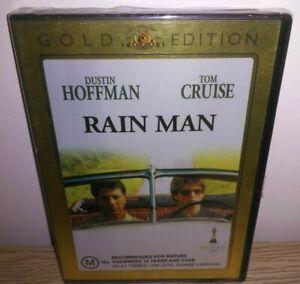 Rain Man DVD ~ Brand New & Sealed Region 4 ~ Tom Cruise, Dustin Hoffman