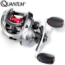 Zander /& Barsche Quantum Smoke S3 LH 101 HPT Baitcaster Multirolle zum Spinnfischen auf Hechte Baitcasterrolle Spinnrolle