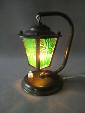 Lampe lanterne laiton année 60