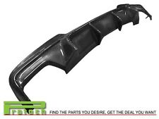 V Style Carbon Fiber Rear Bumper Diffuser Lip For 2011+ F10 535i M Sports Bumper