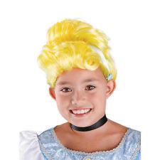 Cinderella Wig, Disney Girls Disguise Cosplay Reenactment Halloween, Up-do Hair