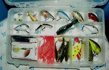 LARGE TACKLE BOX FULL OF CRANK BAITS, RAPALA,MANNS,F.ARBOGAS,LIVINGSTON,STORM