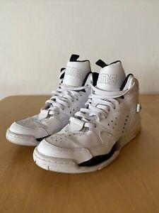 Converse Aero Jam Mid 2014 Larry Johnson White High Top Sneakers UK10 US11 EUR45
