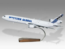 McDonnell Douglas MD-11 Western Global Airlines Handcrafted Wood Display Model