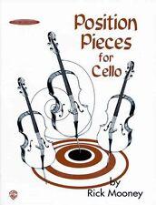 Rick Mooney Position Pieces for Cello Book 1 Alf0762