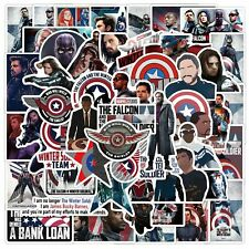 50 Falcon and Winter Soldier Superheroes Stickers Skateboard Luggage US SELLER
