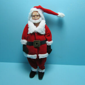 Dollhouse Miniature Santa Claus in Christmas Suit 00074