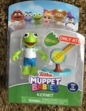 Disney Junior Muppet Babies KERMIT Poseable Action Figure Banjo and Stand 2018