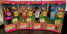 lot of 4 Happy Meal Whitney, Stacie, Todd, Janet Barbie Dolls NIB NRFB