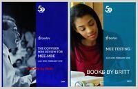 2019 Barbri Bar Exam UBE - 2 book SET- Conviser & MEE Essay Testing BRAND NEW