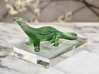 Lalique French Crystal Salamander Figurine Signed Authjentic Mint Condition