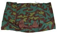 Genuine Italian Army Camo Shelter half tarpaulin waterproof canvas tent poncho