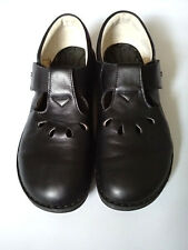 Finn Comfort Shoes Germany Size  Women's Black Leather Lace Up Sz US 7.5/ EUR 38