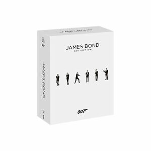007 James Bond Collection Cofanetto da Collezione 24 Film Blu-Ray