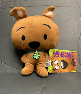 """Scooby-doo Chibi Plush 8"""" Rare Standing Version With Tags Warner Bros Super Cute"""
