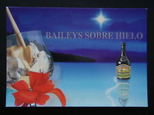 BAILEYS SOBRE HIELO THE ORIGINAL ADVERT POSTCARD