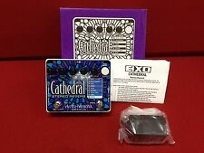 ELECTRO HARMONIX CATHEDRAL PEDAL!! MUSIC SQUARE! BEAUTIFUL REVERBS!