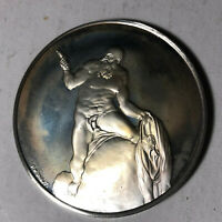 St. Bartholomew The Genius of Michelangelo 1.26oz Sterling Silver Medal
