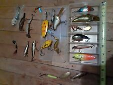 20 Lures In New Plano Pocket Box Great Shape