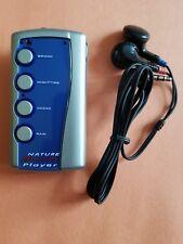 Natural Nature Sounds Player w/ Headphones - Personal/Portable - 4 Sounds XMAS