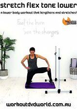 Barre Stretch EXERCISE DVD - Barlates Body Blitz STRETCH FLEX TONE LOWER!