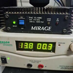 Mirage 100w UHF Power Linear Amplifier
