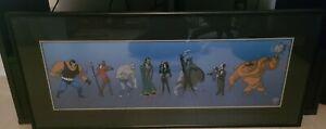 "Batman Animated Sericel 1996 ""The Villains Of Gotham City II"" #399/2500 Warner"