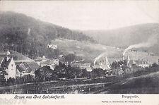 AK Bad Salzdetfurth. Burgquelle, gel. 1929 nach Ahlem/ Aller.
