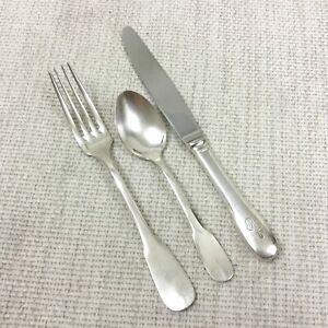 Concorde Memorabilia Air France Cutlery Christofle Silver Plated Flatware Set