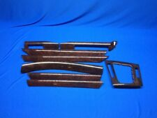BMW e46 Sedan Wood Grain Trim 323 325 330i 330xi Auto Transmission Oem Clean
