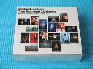 MICHAEL JACKSON 5CD Tour Souvenir CD Single BOX 1992 Japan ESCA-5703~7
