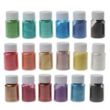 18 Colors Cosmetic Grade Pearlescent Mica Powder Epoxy Resin Dye Pearl Pigment