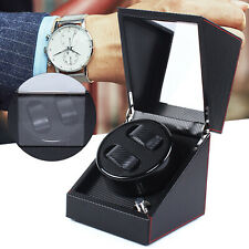 Watch Winder Box Storage Case Silent 2 Slot Double Watch Winder, Automatic