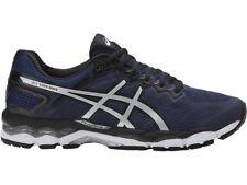 New Men's Asics GEL SUPERION T7H2N Indigo Blue/Silver/Black Running Shoes Sz 10