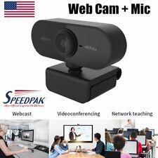 HD Webcam 720P/1080P with Microphone, PC Laptop Desktop Android TV USB Webcams