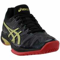 ASICS Solution Speed Ff L.E Womens Running Sneakers Shoes    - Black