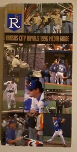 1996 Kansas City Royals Baseball MLB Media GUIDE